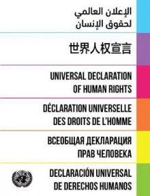 Universal Declaration of Human Rights 2016 av United Nations (Heftet)