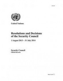 Resolutions and Decisions of the Security Council 2014, 69th Year av United Nations (Heftet)