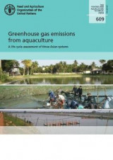 Omslag - Greenhouse gas emissions from aquaculture
