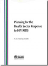 Omslag - Planning for the health sector response to HIV/AIDS