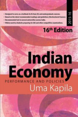Omslag - Indian Economy: Performance and Policies 2015-16