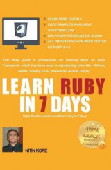 Omslag - Learn Ruby in 7 Days