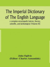 Omslag - The imperial dictionary of the English language