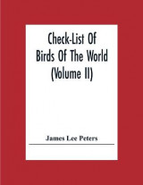 Omslag - Check-List Of Birds Of The World (Volume Ii)