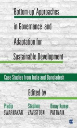Omslag - `Bottom-up' Approaches in Governance and Adaptation for Sustainable Development