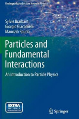 Omslag - Particles and Fundamental Interactions