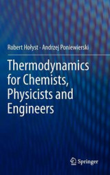 Omslag - Thermodynamics for Chemists, Physicists and Engineers