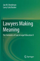 Omslag - Lawyers Making Meaning