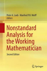Omslag - Nonstandard Analysis for the Working Mathematician