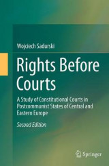 Omslag - Rights Before Courts