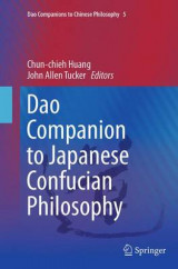 Omslag - Dao Companion to Japanese Confucian Philosophy