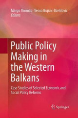 Omslag - Public Policy Making in the Western Balkans