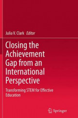 Omslag - Closing the Achievement Gap from an International Perspective