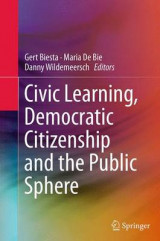 Omslag - Civic Learning, Democratic Citizenship and the Public Sphere