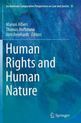 Omslag - Human Rights and Human Nature
