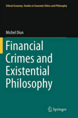 Omslag - Financial Crimes and Existential Philosophy