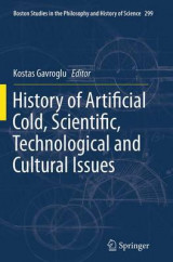 Omslag - History of Artificial Cold, Scientific, Technological and Cultural Issues