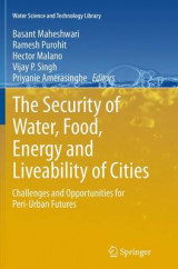 Omslag - The Security of Water, Food, Energy and Liveability of Cities