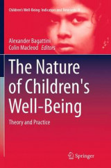 Omslag - The Nature of Children's Well-Being