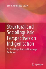 Omslag - Structural and Sociolinguistic Perspectives on Indigenisation