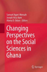 Omslag - Changing Perspectives on the Social Sciences in Ghana