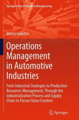 Omslag - Operations Management in Automotive Industries