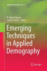 Omslag - Emerging Techniques in Applied Demography