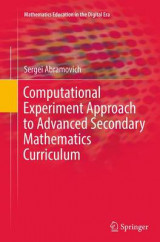 Omslag - Computational Experiment Approach to Advanced Secondary Mathematics Curriculum