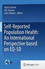 Omslag - Self-Reported Population Health: An International Perspective Based on EQ-5D