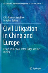 Omslag - Civil Litigation in China and Europe