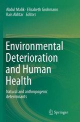Omslag - Environmental Deterioration and Human Health