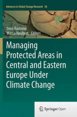Omslag - Managing Protected Areas in Central and Eastern Europe Under Climate Change