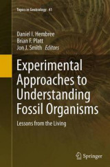 Omslag - Experimental Approaches to Understanding Fossil Organisms