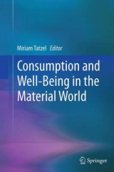 Omslag - Consumption and Well-Being in the Material World