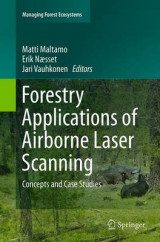 Omslag - Forestry Applications of Airborne Laser Scanning