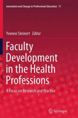 Omslag - Faculty Development in the Health Professions