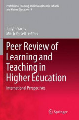 Omslag - Peer Review of Learning and Teaching in Higher Education
