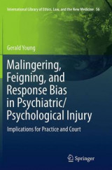 Omslag - Malingering, Feigning, and Response Bias in Psychiatric/ Psychological Injury