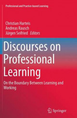 Omslag - Discourses on Professional Learning