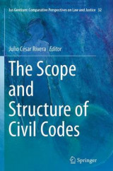 Omslag - The Scope and Structure of Civil Codes