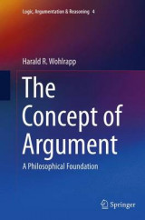 Omslag - The Concept of Argument