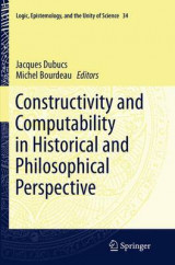Omslag - Constructivity and Computability in Historical and Philosophical Perspective