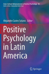 Omslag - Positive Psychology in Latin America