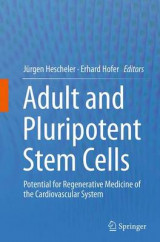 Omslag - Adult and Pluripotent Stem Cells