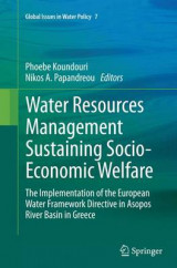 Omslag - Water Resources Management Sustaining Socio-Economic Welfare
