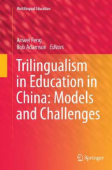 Omslag - Trilingualism in Education in China: Models and Challenges