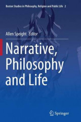 Omslag - Narrative, Philosophy and Life