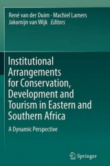 Omslag - Institutional Arrangements for Conservation, Development and Tourism in Eastern and Southern Africa