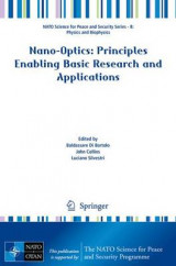 Omslag - Nano-Optics: Principles Enabling Basic Research and Applications 2016