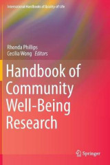 Omslag - Handbook of Community Well-Being Research 2016